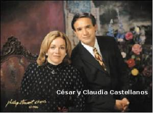 cESAR cASTELLANO Y ESPOSA