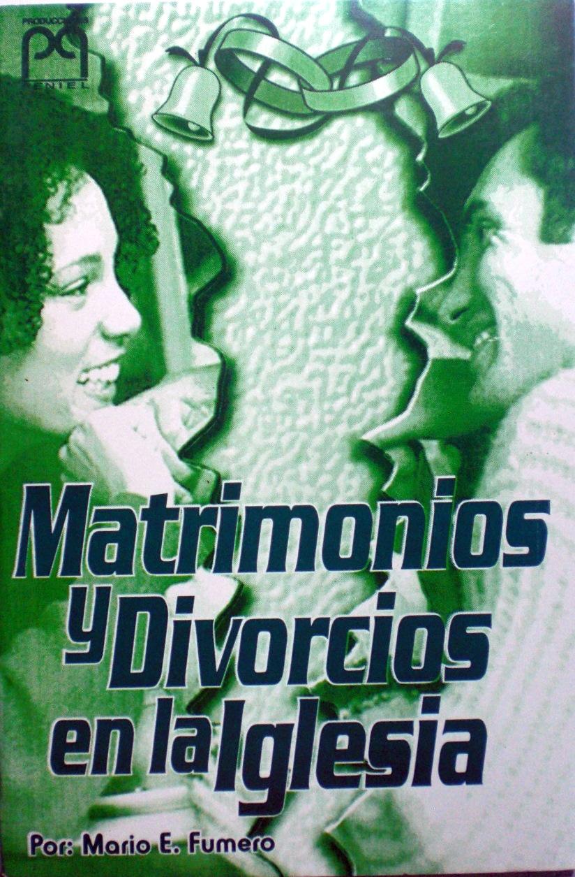 Matrimonio Y Separacion Biblia : Matrimonio y divorcios en la iglesia libros unidos