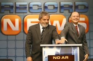 Edil Macedo con Lula