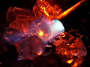 metal y fuego