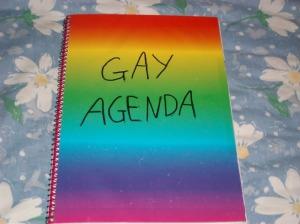 agenda gay