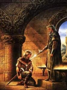 rey y espada