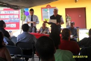 Reconocimiento al Dr. Palacios Moya y a la OABI por su fiel apoyo.