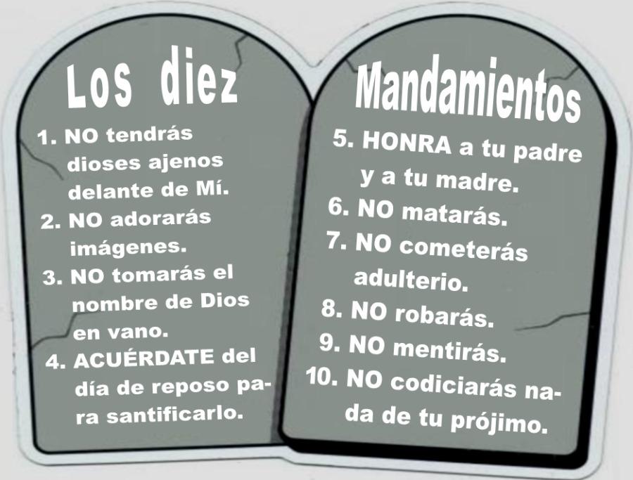 Crean campa a que utiliza los 10 mandamientos para promover tica y ciudadan a unidos contra - Los 10 locos mandamientos ...