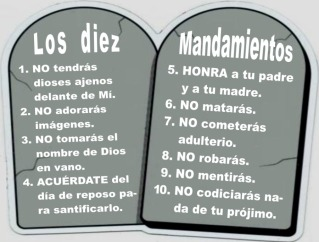 diez mandamiento
