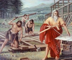 Resultado de imagen de Noé y sus hijos