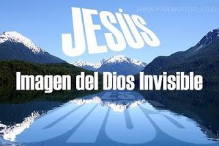JESUS IMAGEN DE LO INVISIBLE