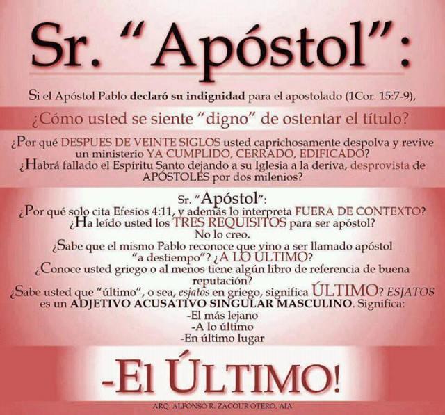 LOS APÓSTOLES FUERON SELECCIONADOS DIRECTAMENTE POR MANO DE JESÚS