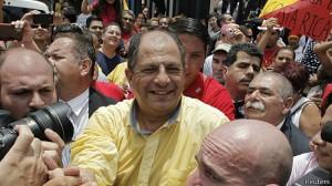 Presidente de Costa Rica Luis Guillermo Solis