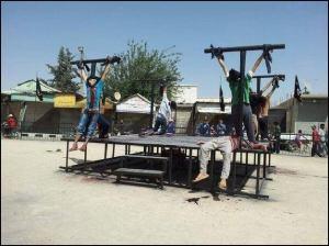 Crucificado en Siria por proclamar a Jesucristo