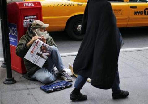 EEUU tiene 49 millones de pobres, según datos del censo