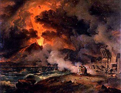 Pompeya es una muestra del fin de los tiempos.