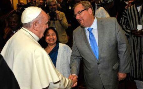 Rick Waren y el papa francisco