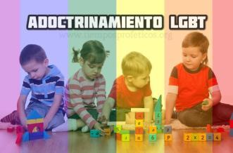 adoctrinamiento gay a niños