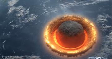 cometa, impacto, tierra
