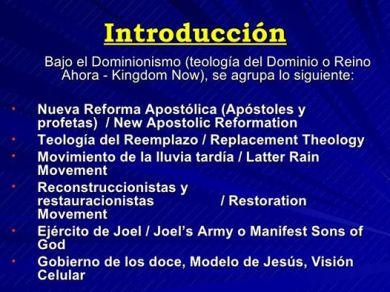 teologia del reino ahora