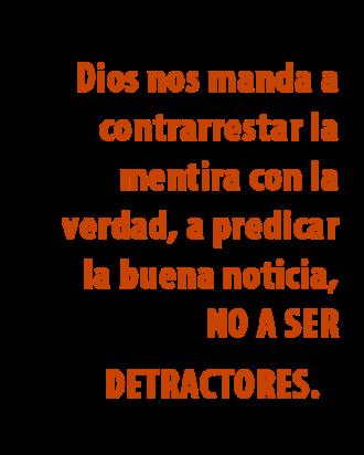 DEFENDER  MAL EL EVANGELIO 2