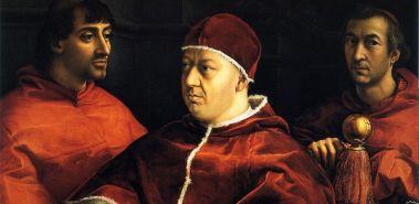 (el papa León x y Florencia)