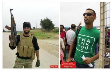 terroristas, refugiados, infiltrado