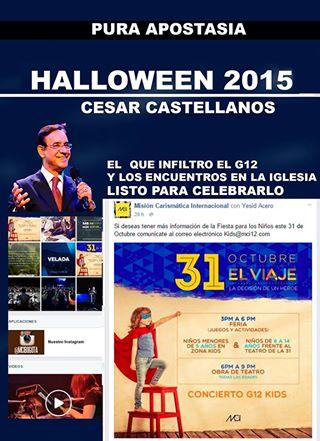 Cesar Castellano halloween