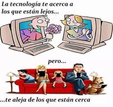 mensaje 534 efecto negativo de la tecnologia
