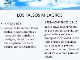 falsos milagros
