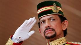 Sultán Hassana Bolkiah de Brunéi.