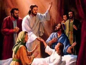 JESUS Y LA HIJA DE JAIRO