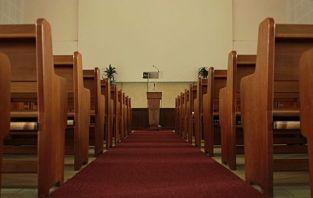 salon, iglesia