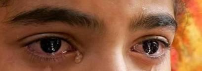 hijo llorando