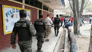 militarizar colegios