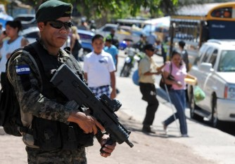 HONDURAS-VIOLENCE-SECURITY-OPERATION FREEDOM