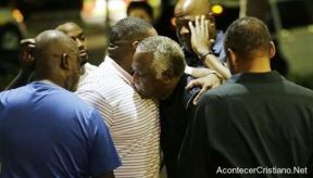 Sobrevivientes al tiroteo en la Iglesia Africana Metodista