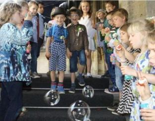 boda gay con niños