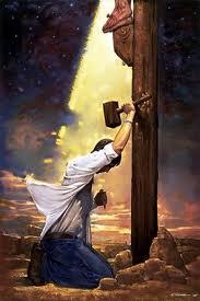 JESUS Y EL PECADOR AL PIE