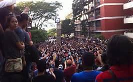 protesta universidad honduras