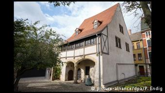 La casa de Eisleben donde nació Lutero.