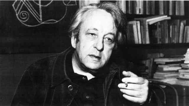 El filósofo comunista francés Louis Althusser
