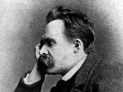 El filósofo alemán Friedrich Nietzsche
