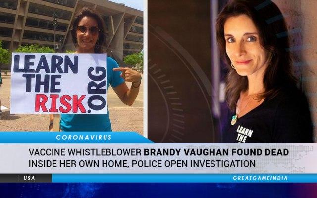 Dra. Brandy VAUGHAM fue asesinada
